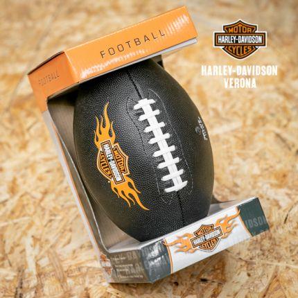 Palla da Football Harley-Davidson® Bar & Shield Flames Logo