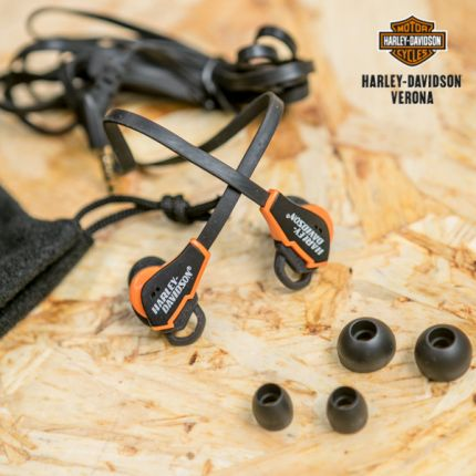 Ear Phones Harley-Davidson® Orange