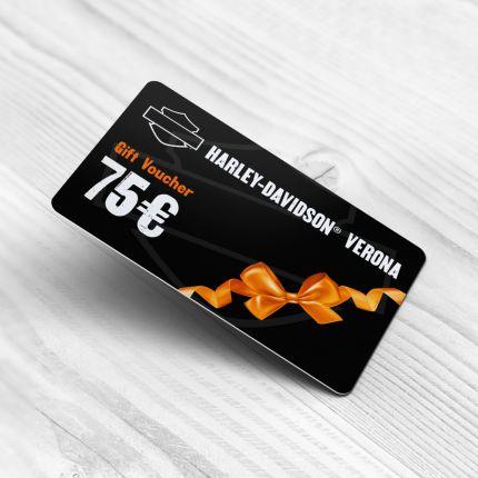Gift Card Harley Davidson Verona-75 Euro