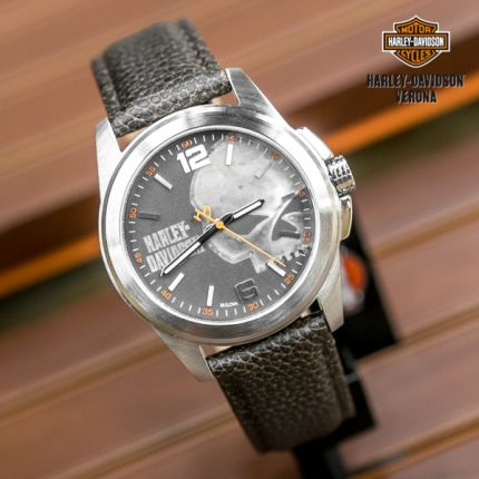 Orologio Harley-Davidson® teschio vintage