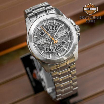 Orologio Harley-Davidson® grigio ardesia