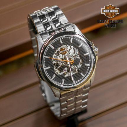 Orologio Harley-Davidson® Silver Skull