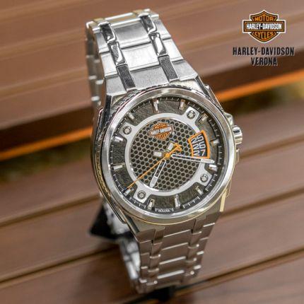 Orologio in Acciaio Harley-Davidson® Bulova