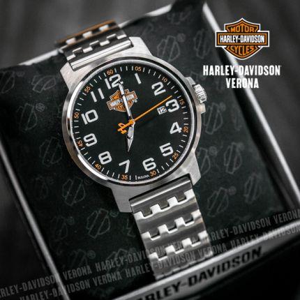 Orologio Harley-Davidson® Black Matte Dial by Bulova
