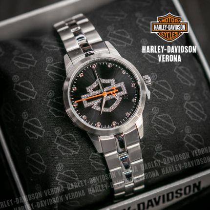 Orologio Harley-Davidson® Glitter Black by Bulova