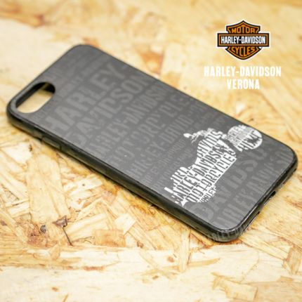 Cover IPhone 7 Harley-Davidson® Shell Text W/Cycle