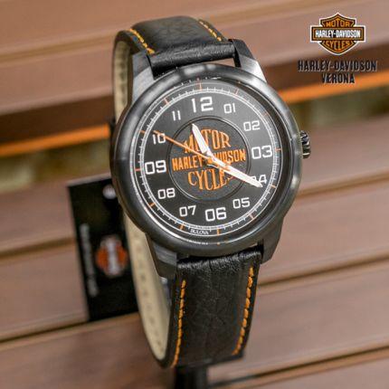 Orologio Harley-Davidson® Orange Logo