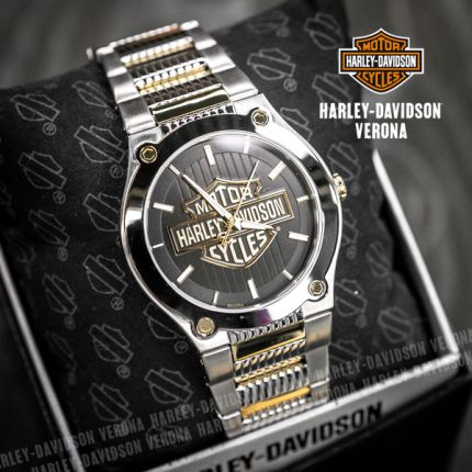 Orologio Harley-Davidson® Hardware Black by Bulova