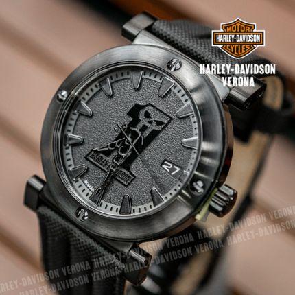 Orologio Harley-Davidson® Black Rock by Bulova
