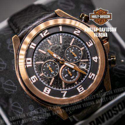 Orologio Harley-Davidson® Night Rider by Bulova