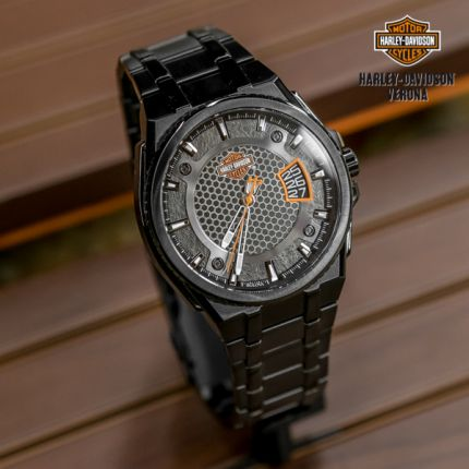 Orologio Harley-Davidson® B&S Dimensional Stainless Steel