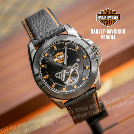 Orologio Harley-Davidson® Stainless Steel Blue by Bulova
