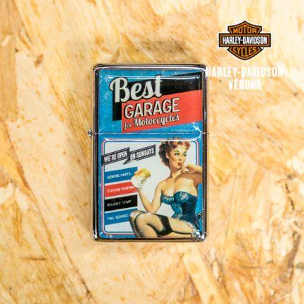 ACCENDINO Best Garage azzurro