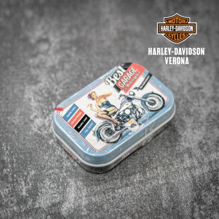 Caramelle Scatola latta Harley-Davidson® Garage Girl