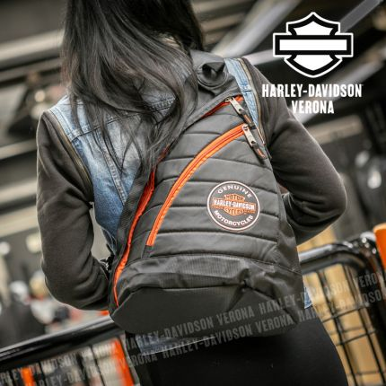 Zainetto Harley-Davidson® Quilted Travel Genuine