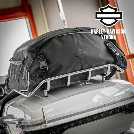 Borsa portapacchi ripiegabile Tour-Pak™ Harley-Davidson® collezione bagagli Onyx