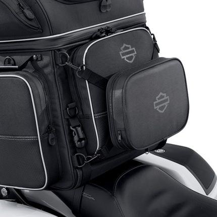 Cuscino dello schienale per guidatore Harley-Davidson® Collezione bagagli Onyx Premium