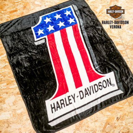 Coperta in pile Harley-Davidson® #1