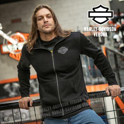Maglia con Zip Harley-Davidson® Embroidered Graphic
