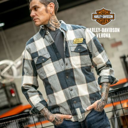 Giacca Camicia Harley-Davidson® Sherpa Lined