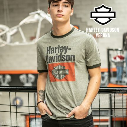 T-Shirt Harley-Davidson® Heritage Sign Graphic