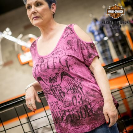 Harley-Davidson® COLD-SHOULDER TOP