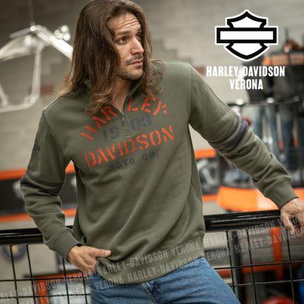 Felpa Harley-Davidson® Stencil Graphic