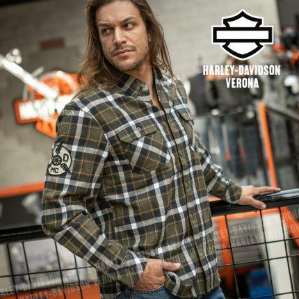 Camicia Harley-Davidson® Font Block Green