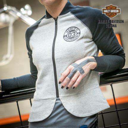 Felpa Zip da Donna Harley-Davidson®