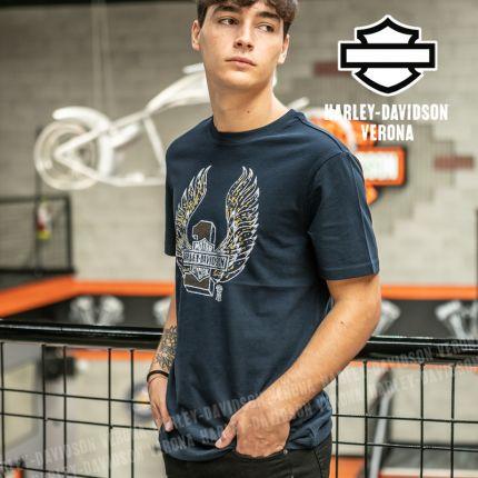 T-Shirt Uomo Harley-Davidson® Winged #1