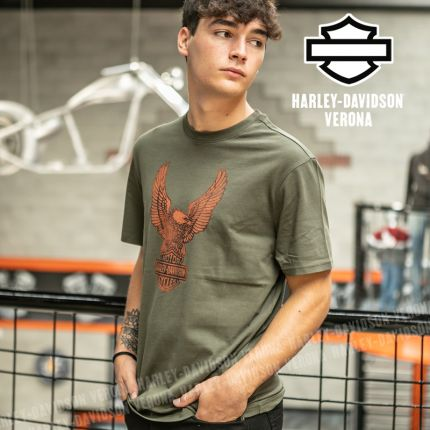 T-Shirt Harley-Davidson® Winged Eagle Graphic