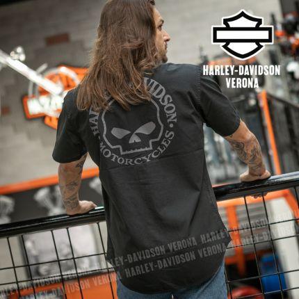 Camicia Harley-Davidson® Willie G Skull Black