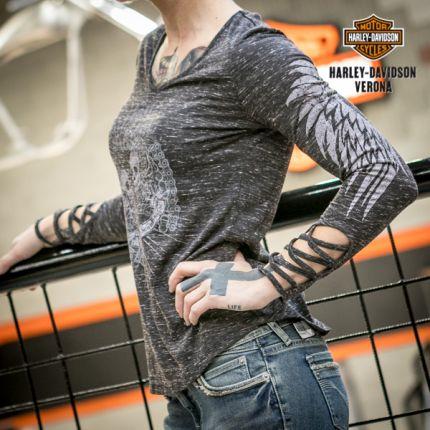Maglia a manica lunga coda donna Harley-Davidson®