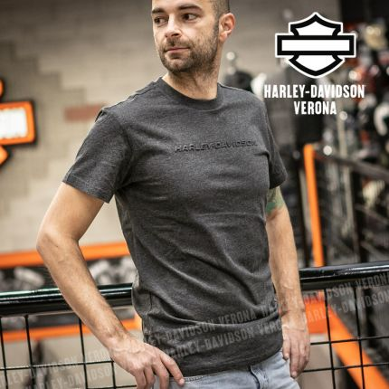T-Shirt Harley-Davidson® Dark Heather Grey