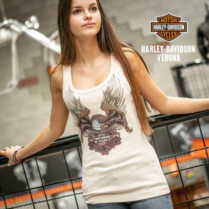 Canotta Harley-Davidson® Eagle & Roses