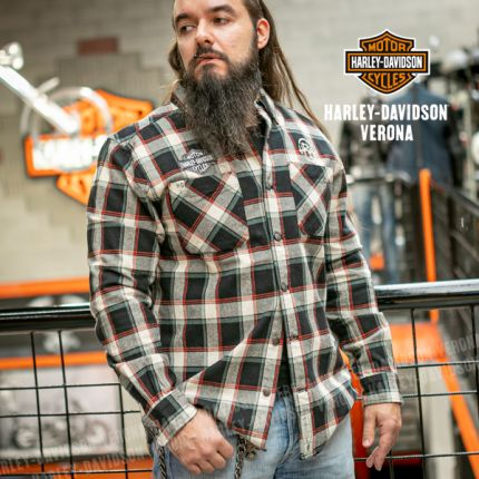 Camicia Harley-Davidson® Wvn-Plaid