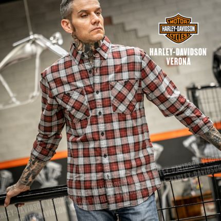Camicia Harley-Davidson® Shoulder Graphic