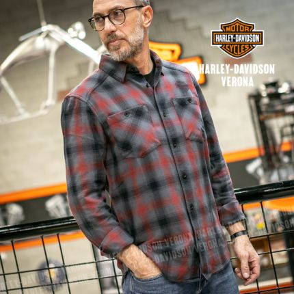 Camicia Harley-Davidson® Herringbone