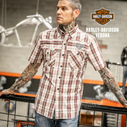 Camicia Harley-Davidson® Plaid Bar&Shield®
