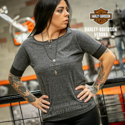 T-Shirt Harley-Davidson® Faux Leather