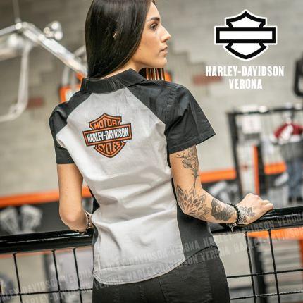 Camicia Harley-Davidson® B&S Logo Zip