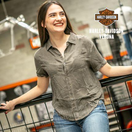 Camicia da Donna Harley-Davidson® W. Oversized