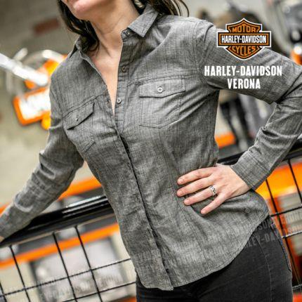 Camicia da Donna Harley-Davidson® Chambray