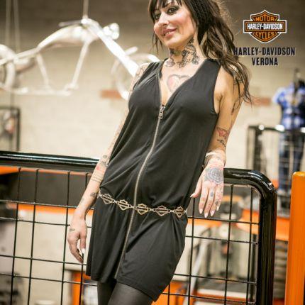Vestito a canotta Harley-Davidson® Zipper Accent