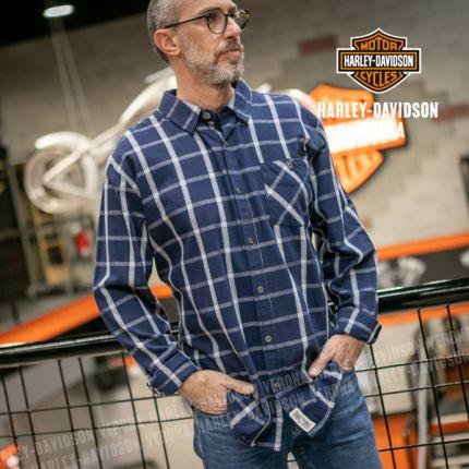 Camicia Harley-Davidson® Cotton Plaid