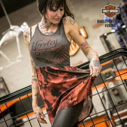 Vestito Free Spirit Tie/Dye Harley-Davidson®