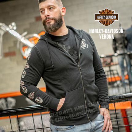 Felpa Harley-Davidson® Skull & Logo