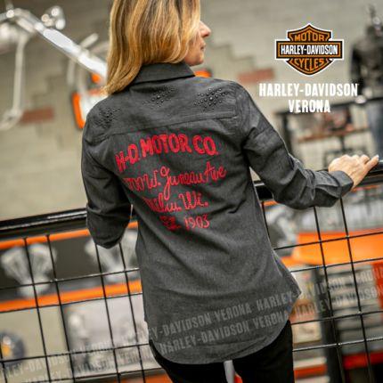 Camicia  Harley-Davidson® Stud & Chain