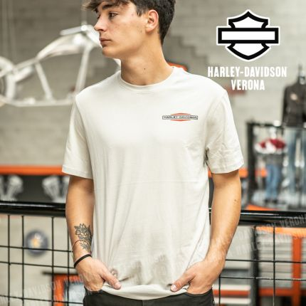 T-Shirt Harley-Davidson® Stacked Graphic Double Logo