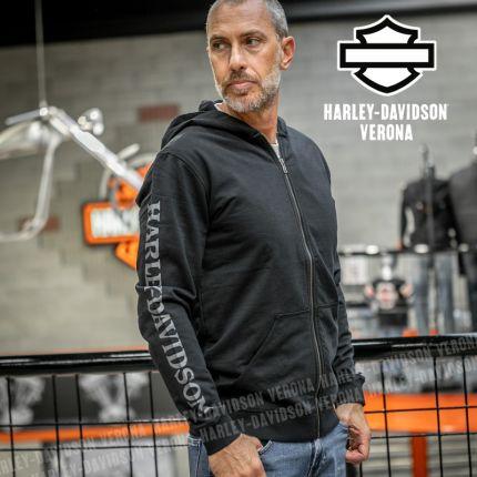 Felpa Harley-Davidson® Full Zip Skull